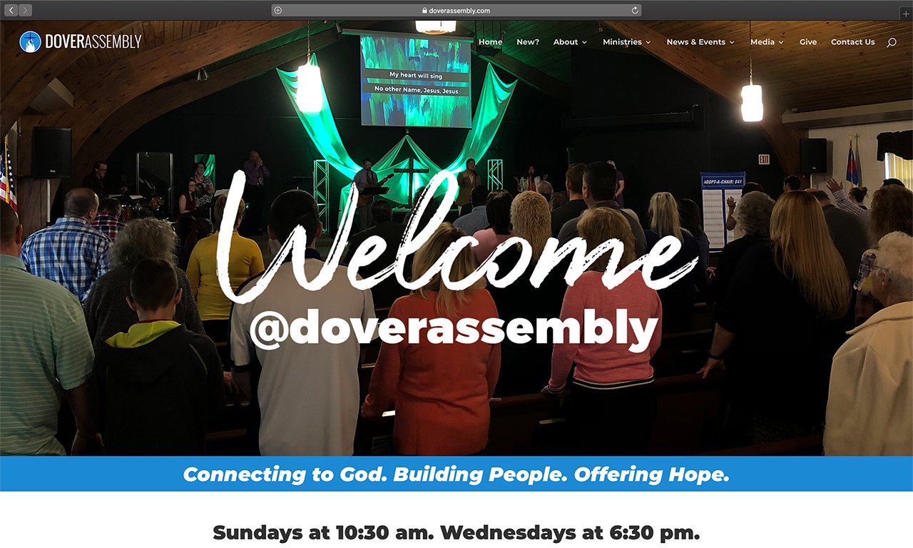 Dover Assembly Website