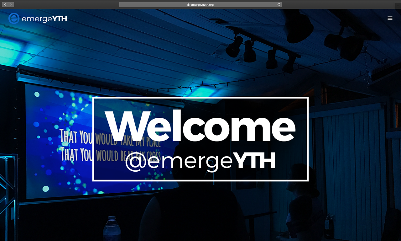 Emerge Youth Website